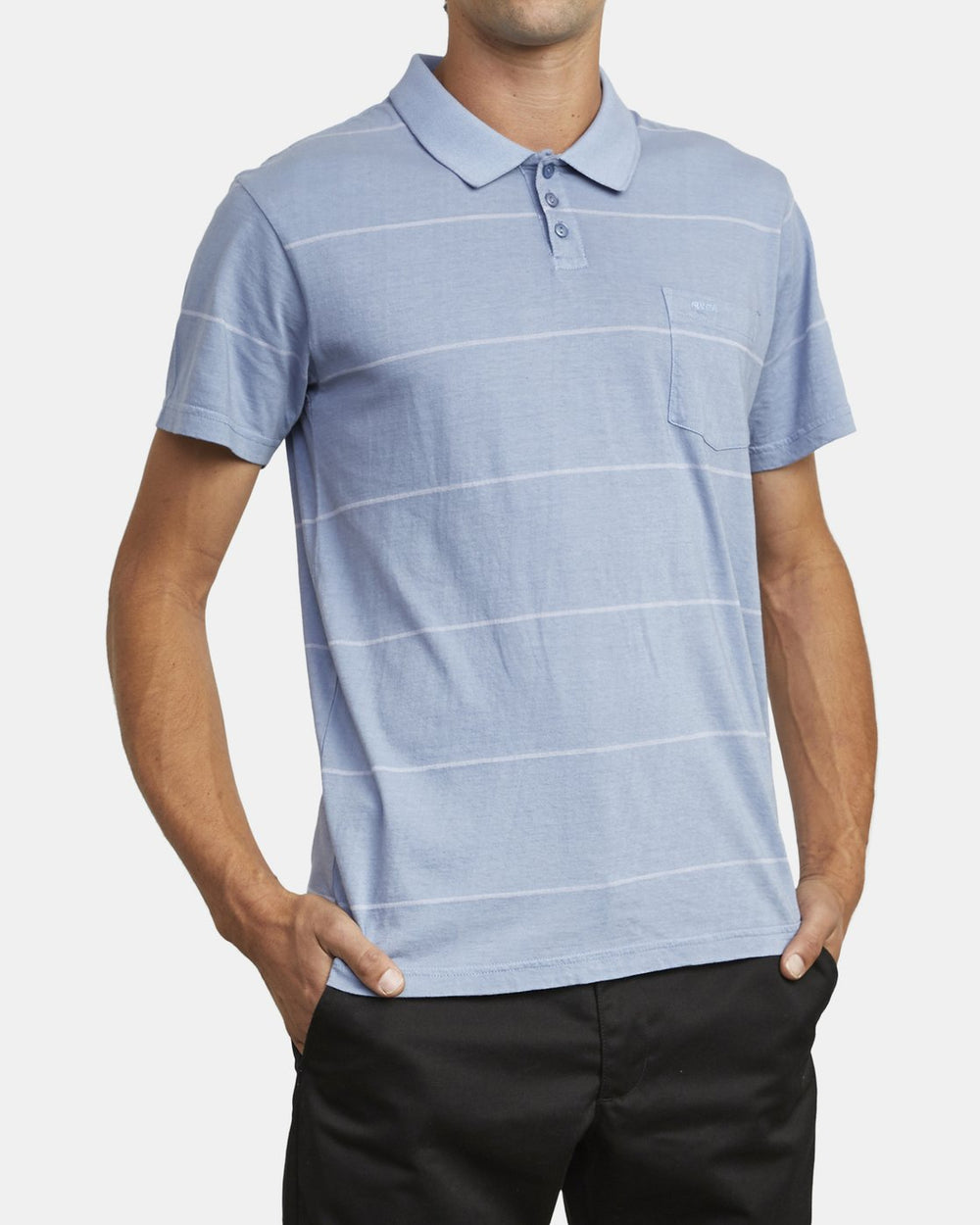 PTC STRIPE POLO SHORT SLEEVE SHIRT