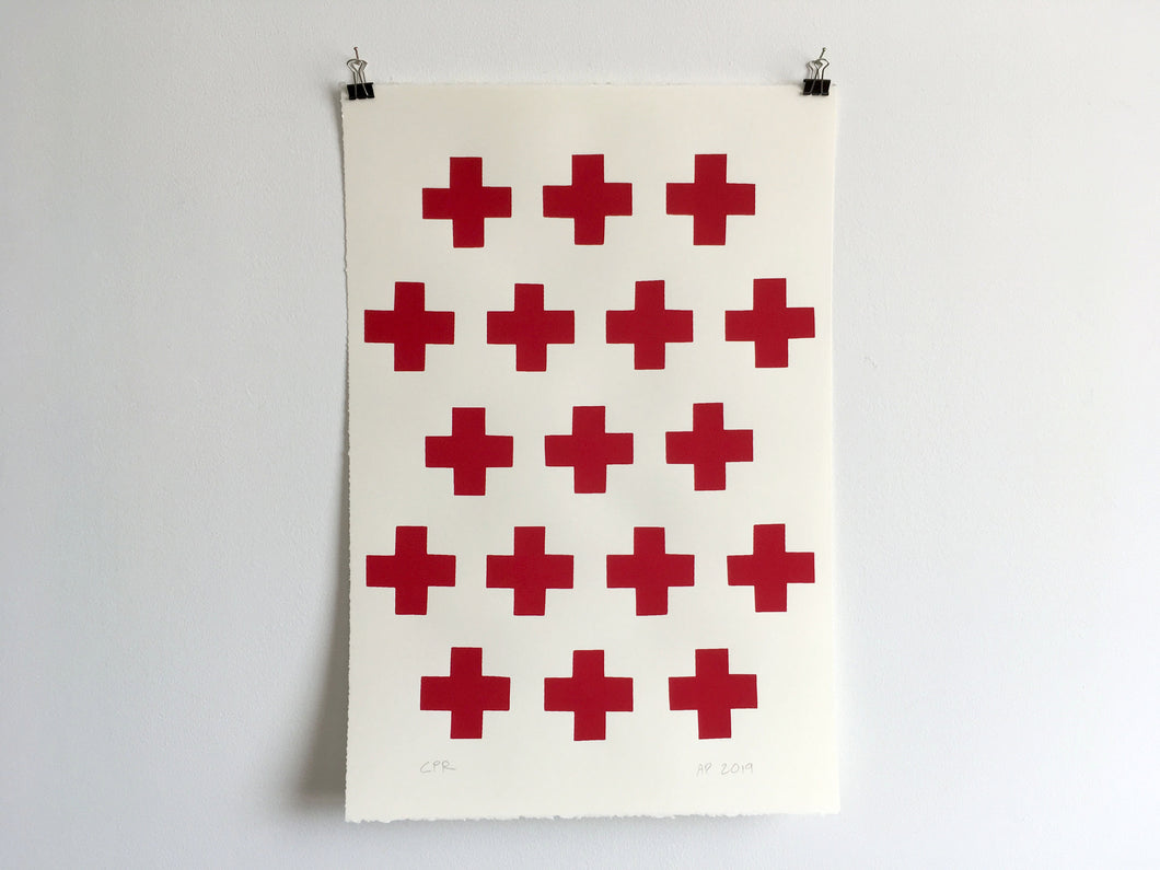 CROSSES - Limited Edition Screen Print