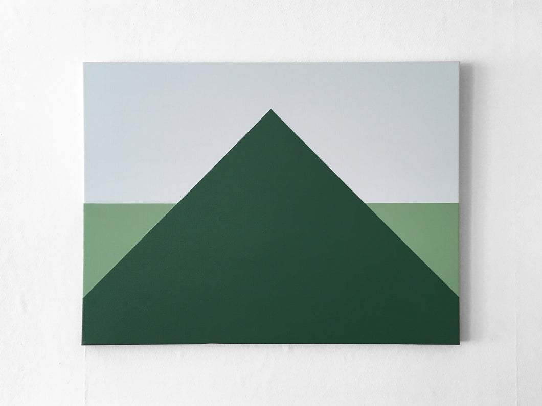 HILL - Acrylic painting on canvas