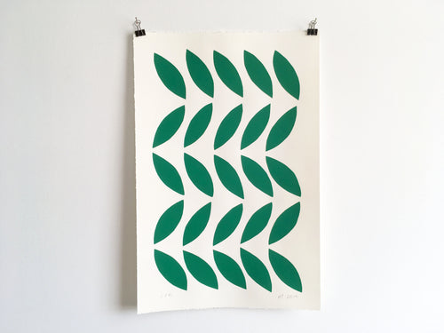 LEAVES - Limited Edition Screen Print