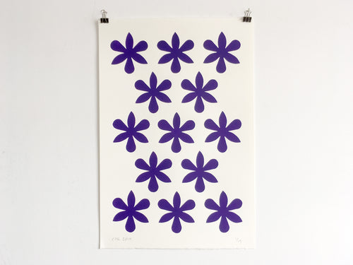 ORCHIDS - Limited Edition Screen Print