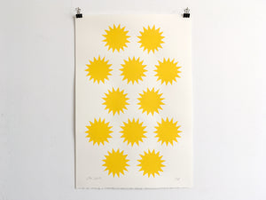 SUNS - Limited Edition Screen Print