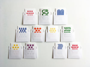 FORTUNE - Set of 11 Color Note Cards