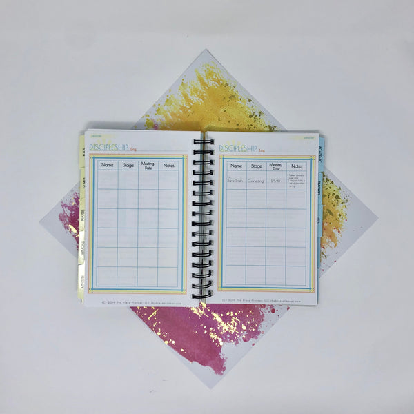Blaze Academic Planner - Yellow