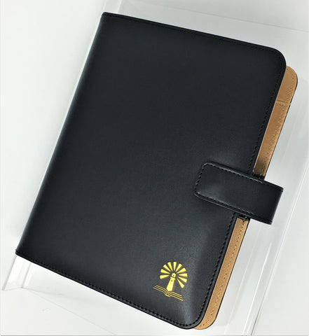 Blaze Deluxe Binder - Black pu Simulated Leather Binder Only