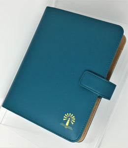 Blaze Deluxe Binder - Teal Leather Binder Only