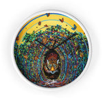 Hypnosis II Wonderland Wall clock