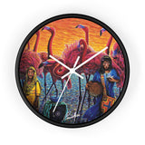 Wayuu Wall clock
