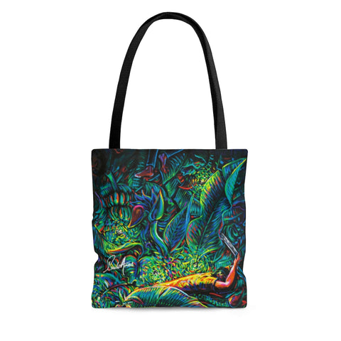 Bananas & Fireflies Tote Bag
