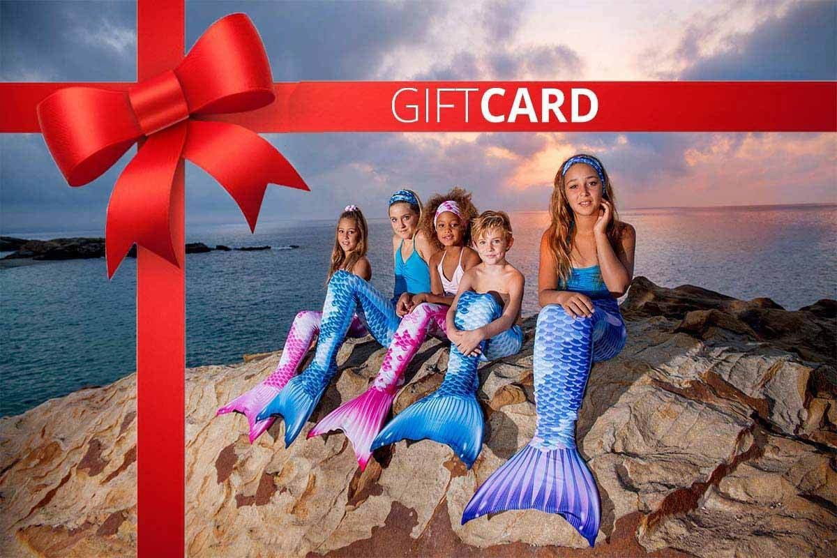 Mermaid Gift Cards for a Little Mermaid