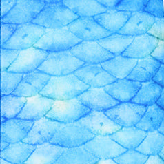 Frozen Aqua Blue Mermaid Tail | MerPlanet Collection | Planet Mermaid