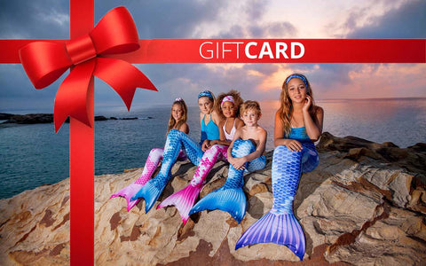 Gift Cards for a Little Mermaid
