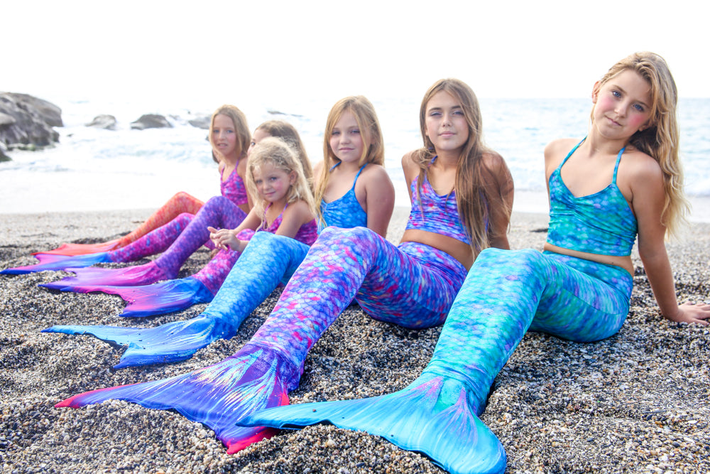 Swimmable Mermaid Tails