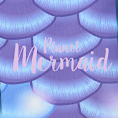 Mayfair Poppy Mermaid Tail  | MerPlanet Collection | Planet Mermaid