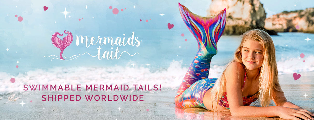 Real Swimmable Mermaid Tails with Monofins | Mermaids Tail UK