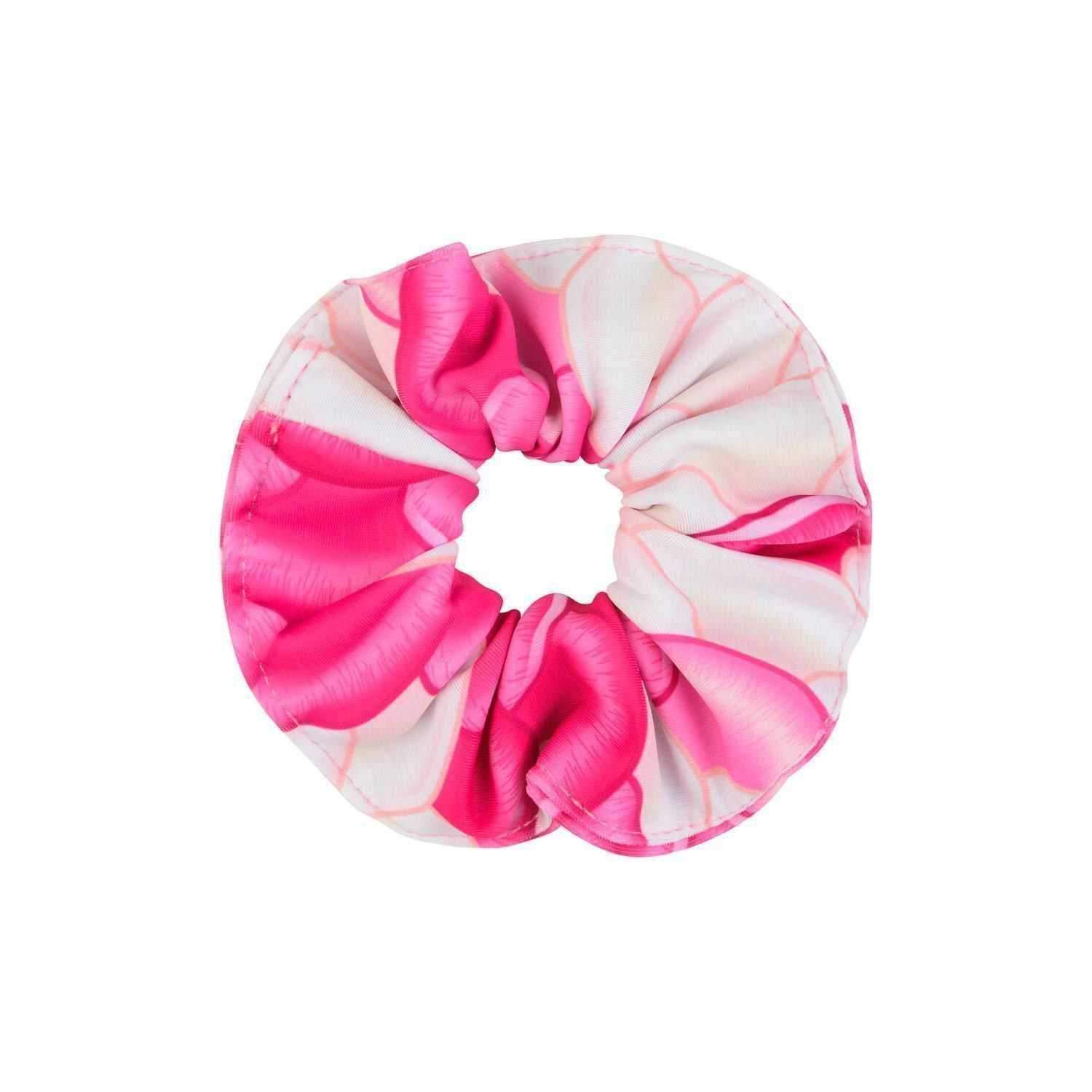 Chelsea Rose Pink Hair Scrunchie - Mermaids Tail UK