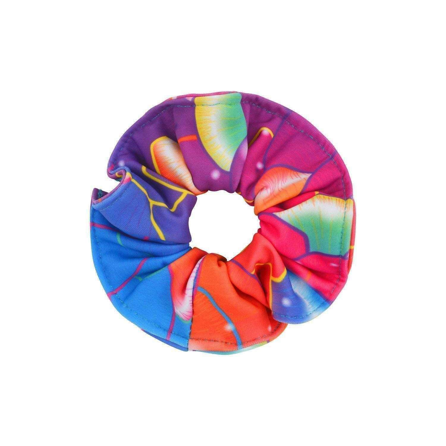 Coral Carnival Hair Scrunchie - Mermaids Tail UK