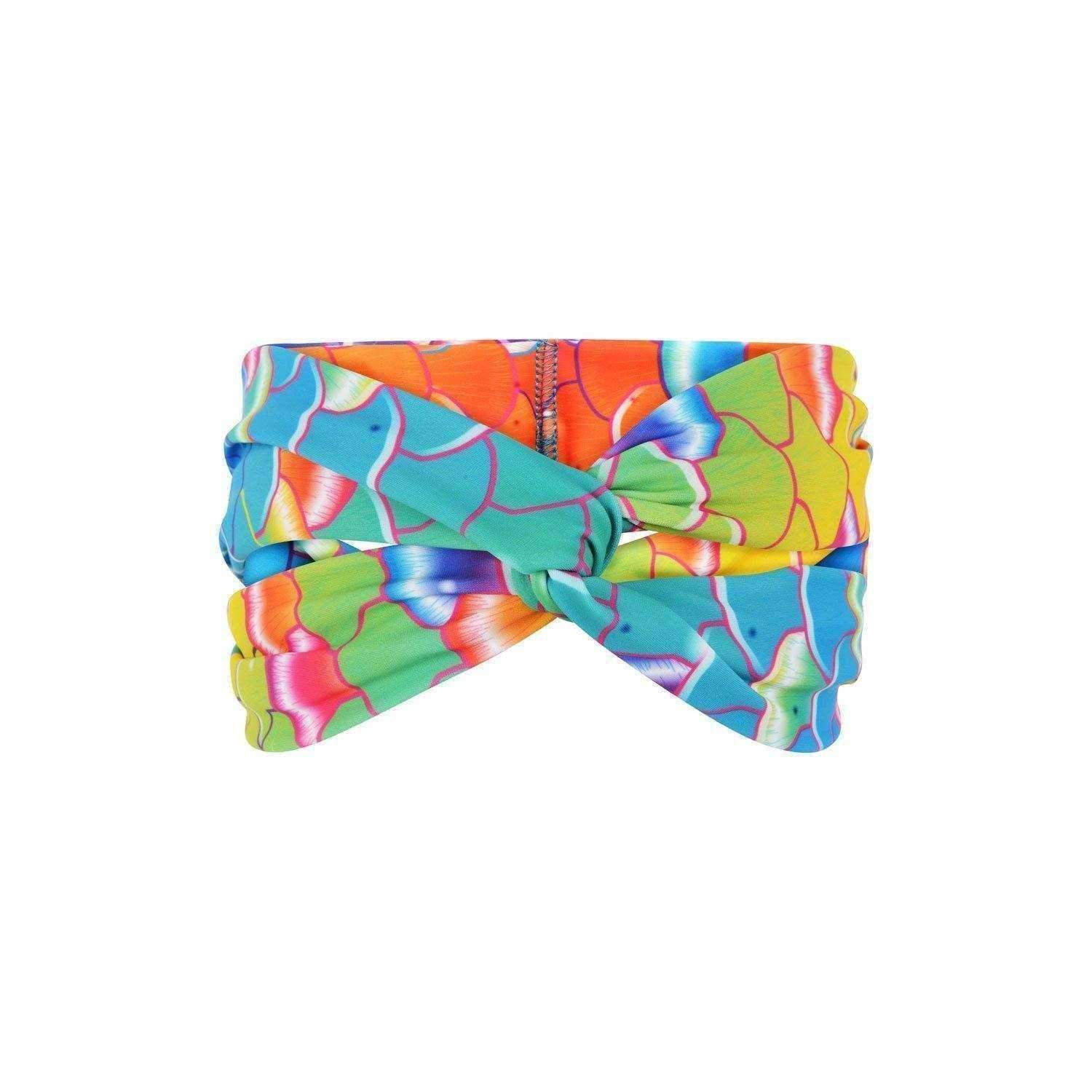 Coral Carnival Hair Wrap - Mermaids Tail UK