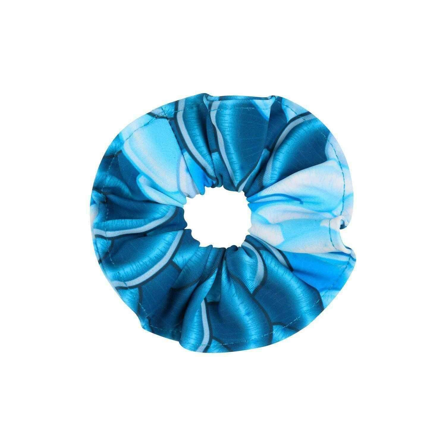Kensington Bluebell Hair Scrunchie - Mermaids Tail UK