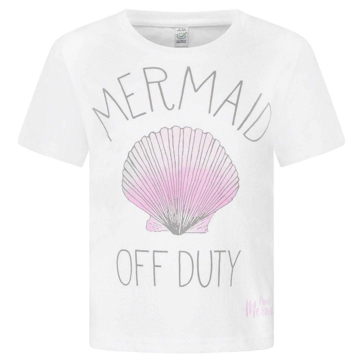 Mermaid Off Duty T-Shirt - Meerjungfrauenschwanz UK