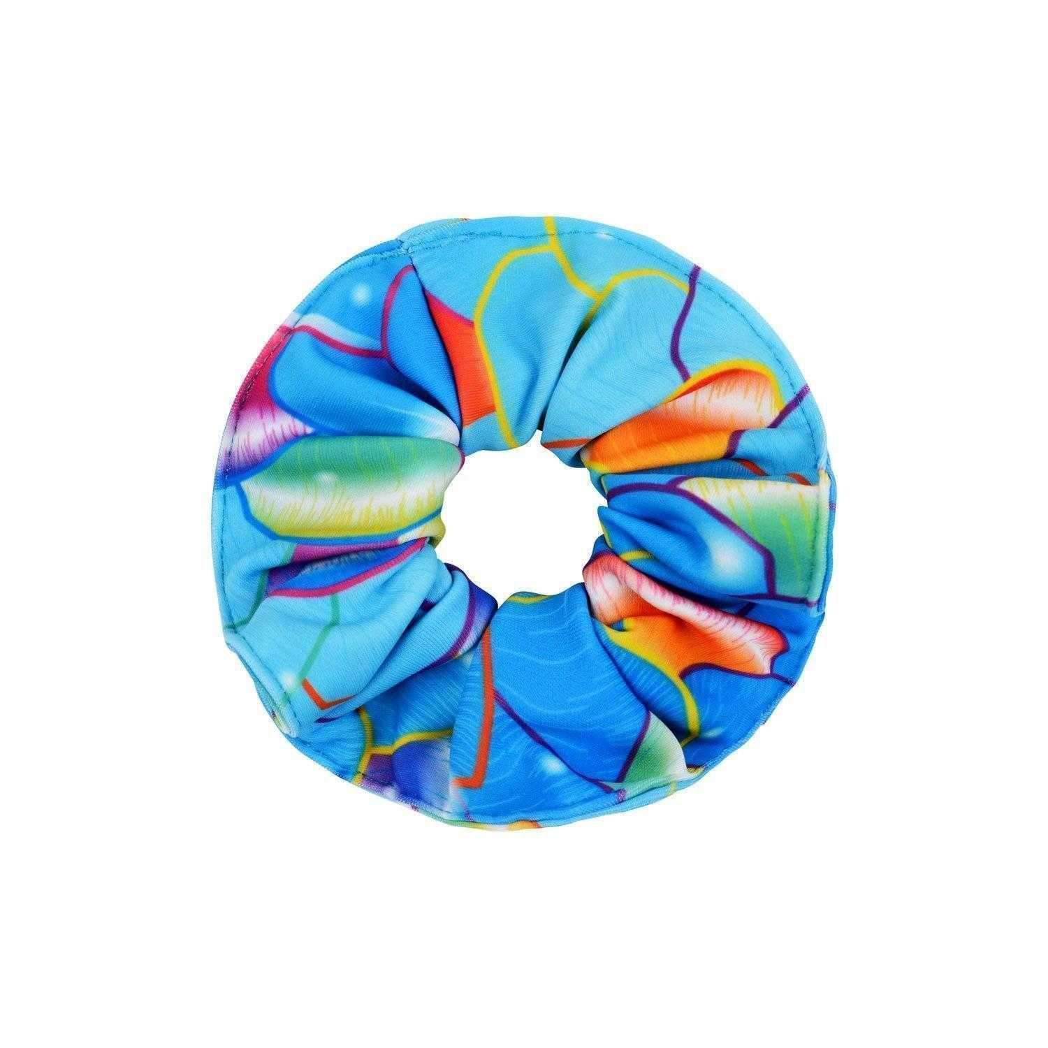 Pacific Rainbow Hair Scrunchie - Mermaids Tail UK