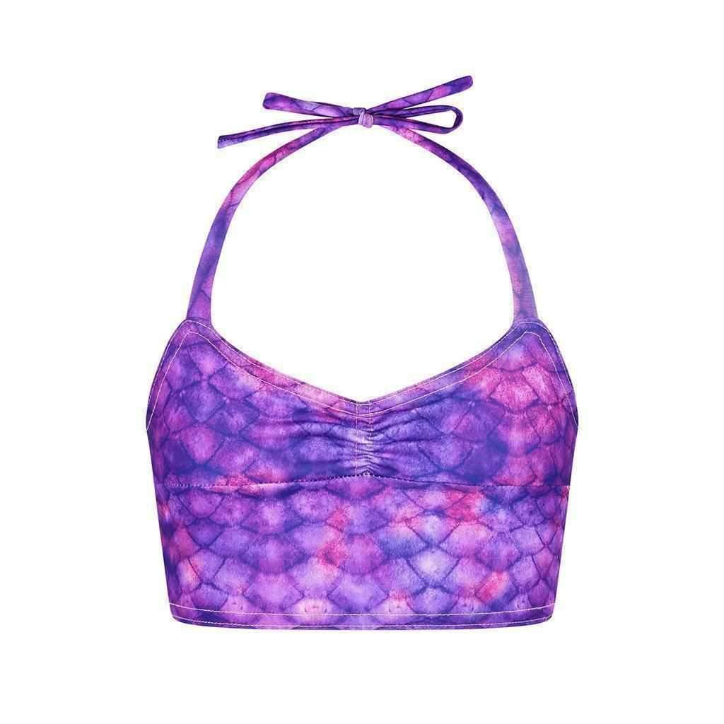 Purple Surf Tankini - Mermaids Tail UK
