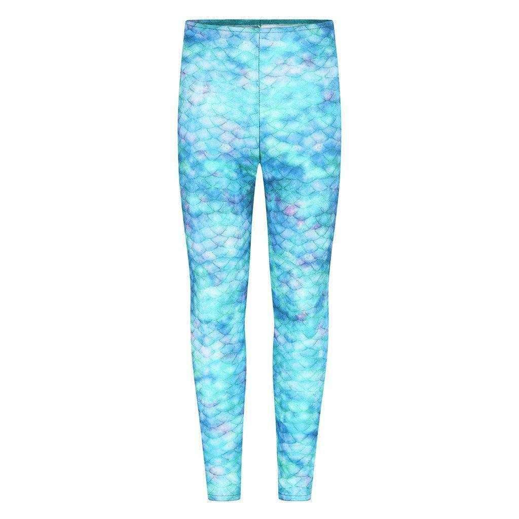 Sea Star Mermaid Leggings - Sirenas Cola Reino Unido
