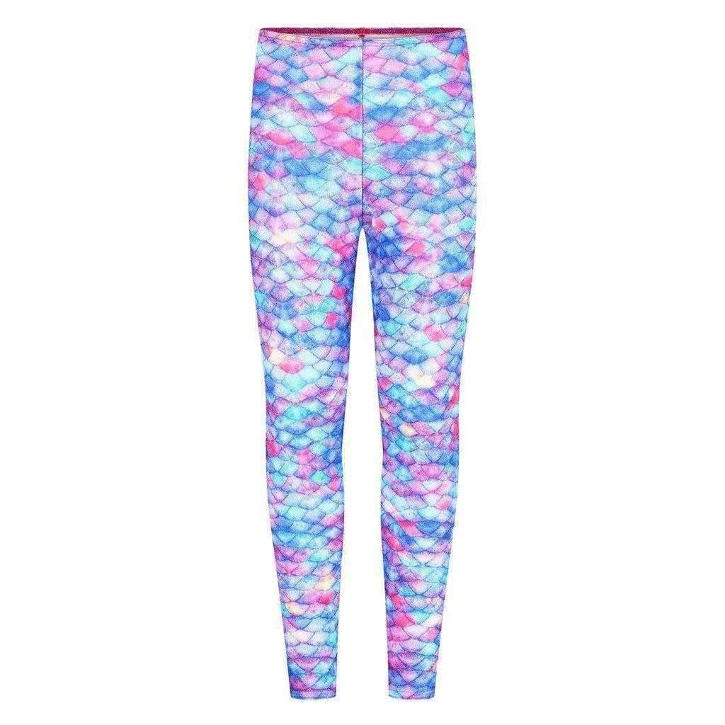 Starbright Princess Mermaid Leggings - Meerjungfrauenschwanz UK