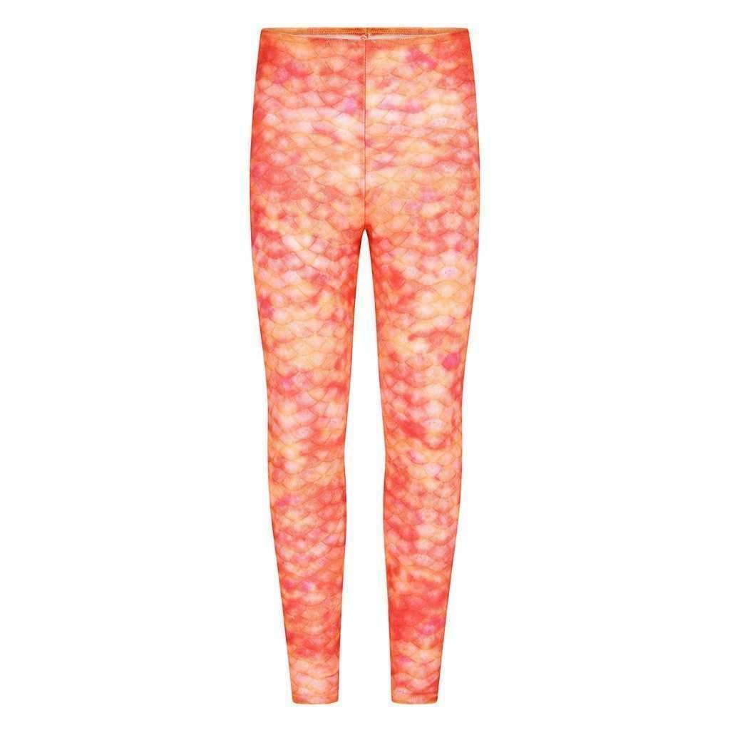 Sunset Splash-Meerjungfrau Leggings - Meerjungfrauen Tail-UK