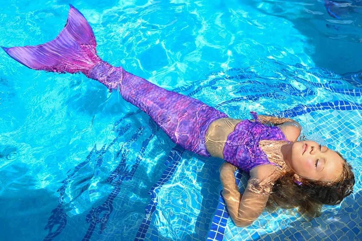 Purple Surf Mermaid Tail Collection