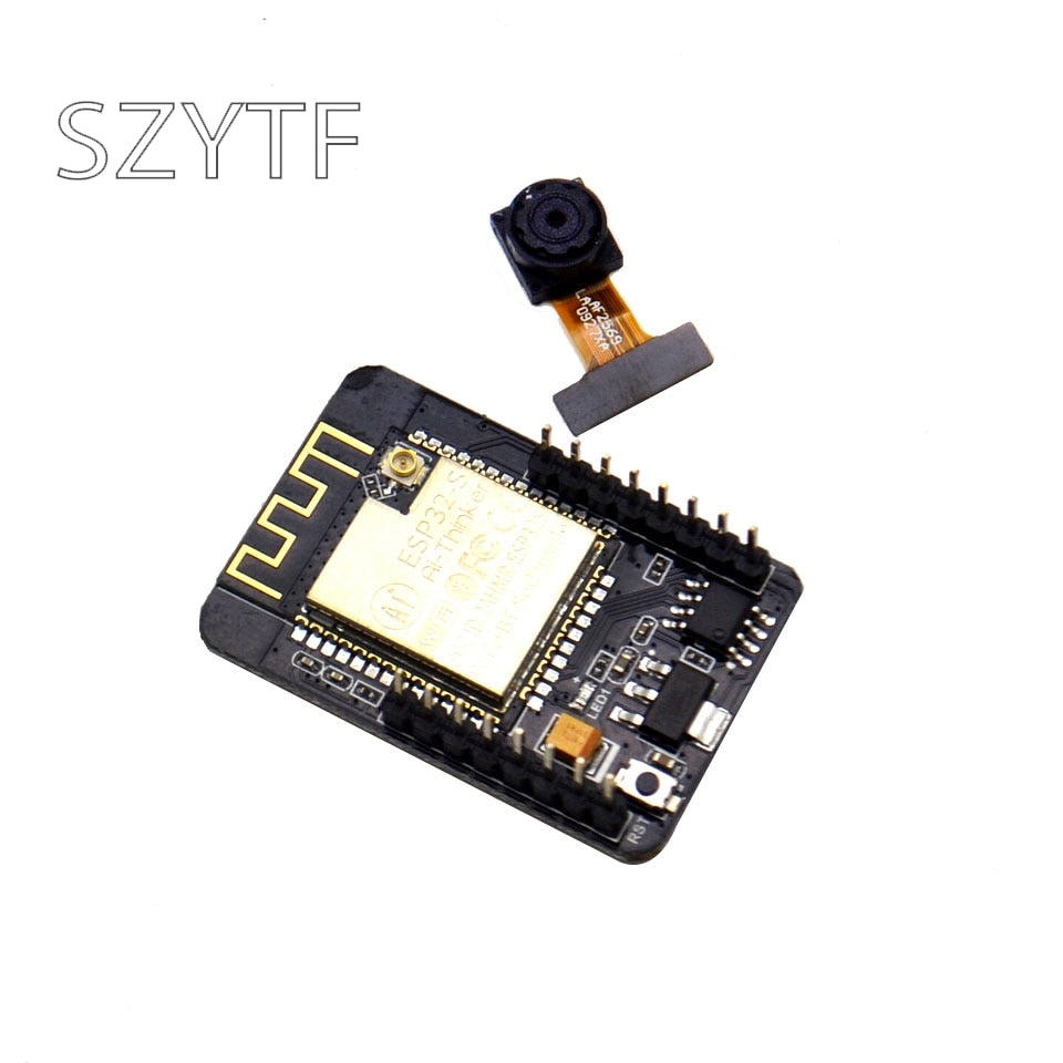 ESP32-CAM ESP-32S WiFi Module ESP32 serial to WiFi ESP32 CAM Development Board 5V Bluetooth with OV2640 Camera Module