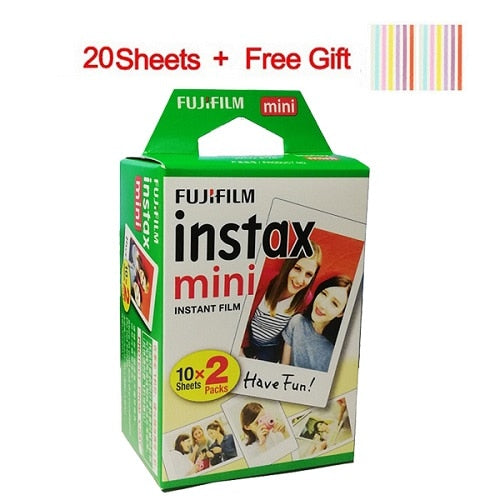 20-100 Sheets Fuji Fujifilm instax mini 9 films white Edge 3 Inch wide film for Instant Camera mini 8 9 7s 25 50s 90 Photo paper