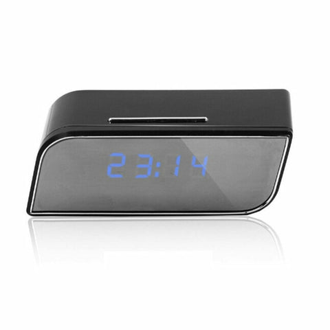 WIFI Digital Alarm Clocks With HD 1080P Wifi Camera Motion Security IR Cam Camera