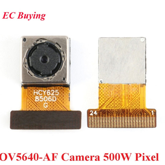 Mini OV7670 OV2640 OV5640-AF Camera Module CMOS Image Sensor Module 2 Million 500W Pixel Wide Angle Camera Monitor Identificatio