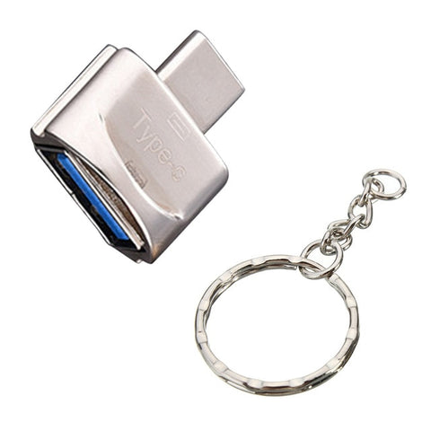 Mini High Transmission Speed USB 3.1 Phone Camera TF Memory Card Reader OTG Adapter Type-c Port