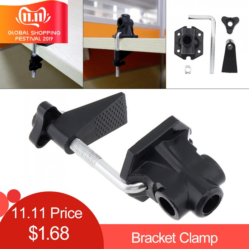 Hardware Bracket Clamp Accessories DIY Fixed Metal Desk Lamp Clip Fittings Screw Camera Flash Holder for Mic Stand