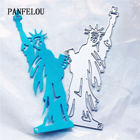 PANFELOU Metal craft The camera shape paper die cutting dies for Scrapbooking/DIY Christmas wedding Halloween cards