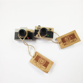 1 Pcs/pack New Retro Wooden Clear Stamp Ancient Camera Shape Stamps For Scrapbooking Paper Notebook Decoration Stamp