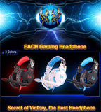 Computer Vibration Gaming Headphone Kotion EACH G2100 Stereo Bass casque Best Earphone Headset with Mic/LED for PC Game Gamer