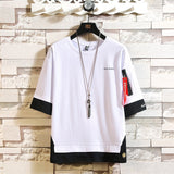 Fashion Short Sleeve Round Neck Print T-shirt 2020 Men's Cotton T-shirt Summer T-shirt Asian Plus Size M-5X T-shirts.