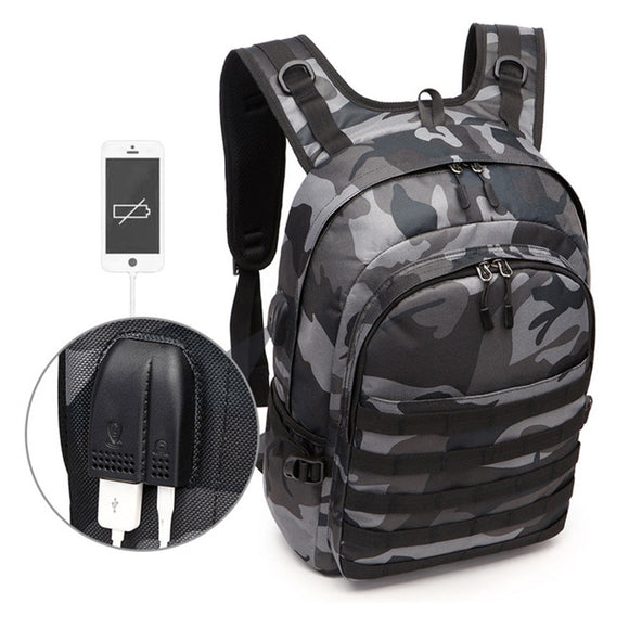 Game PUBG Bag Backpack Cosplay Playerunknown's Battlegrounds Level 3 Instructor Backpack Outdoor Large Capacity Backpack New