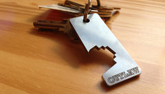 Outlaw Bottle Opener Key Chain