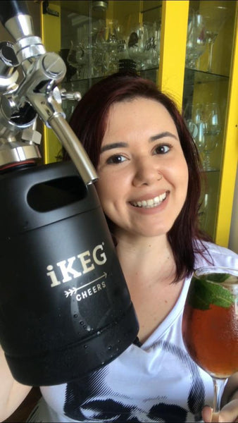 Receita pro calor: MATE ON TAP na iKEG!
