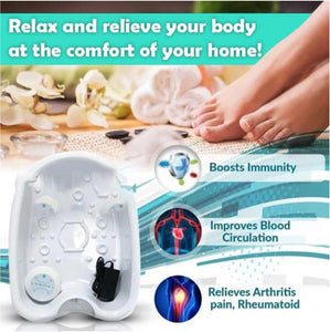Livity Home™️ Detox Foot Spa - Feel Rejuvenated and Cleansed at Home