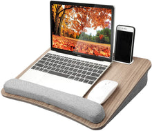 Load image into Gallery viewer, Portable Lap Desk with Pillow Cushion - Livity Home