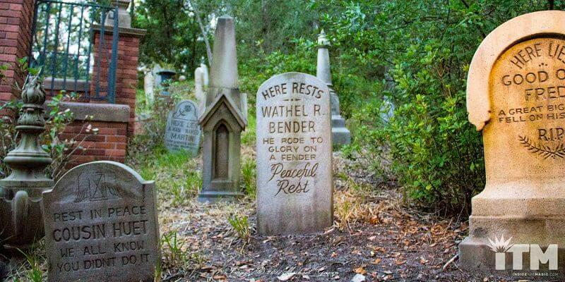 The Story That's Buried in the Haunted Mansion Cemetery - Show Notes!
