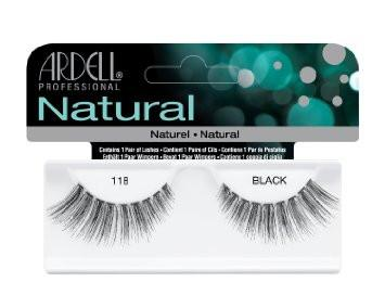Ardell Professional Natural: 118 black