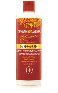 Creme of Nature Argan Oil Pure-licious Co-Wash 12oz