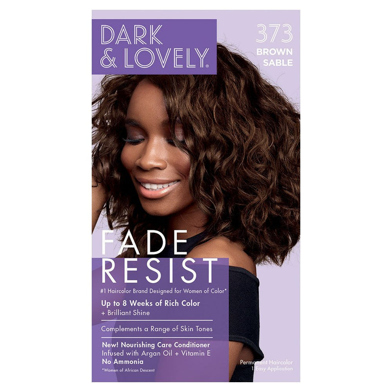 Dark & Lovely Hair Color Brown Sable
