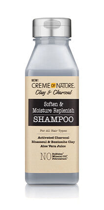 Creme of Nature Clay & Charcoal Replenish Shampoo